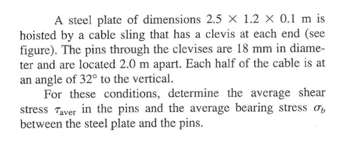 A steel plate of dimensions 2,5 times 1.2 times 0.