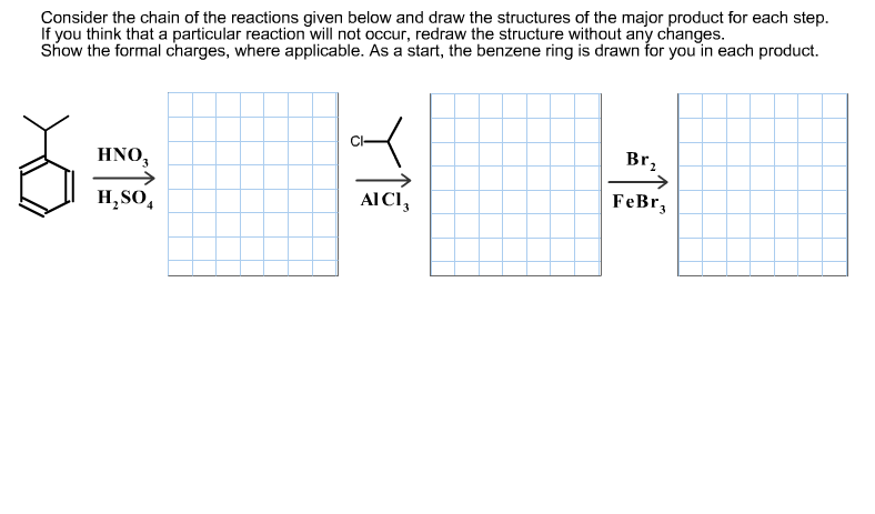 Consider the chain of the reactions given below an