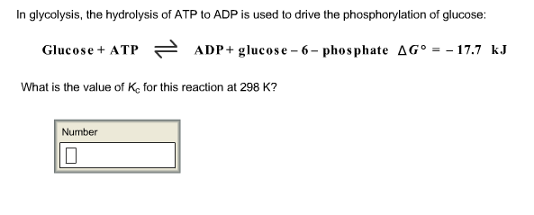 In glycolysis, the hydrolysis of ATP to ADP is use