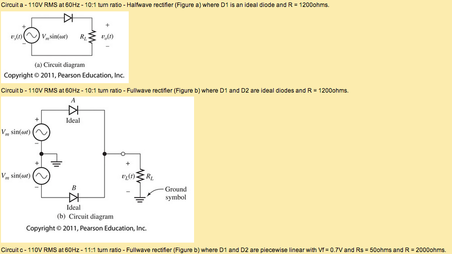 Please match each circuit with its figure. Example