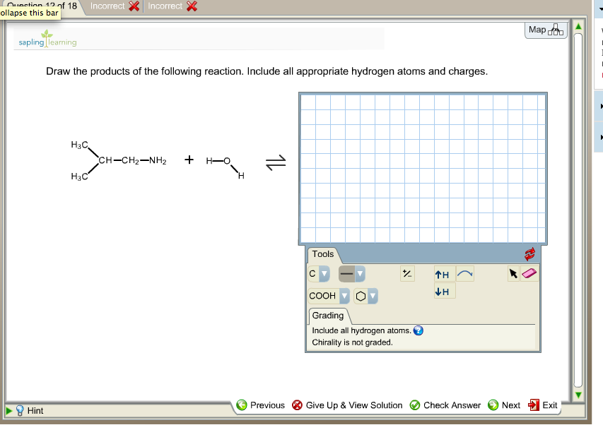 Draw the products of the following reaction. Inclu