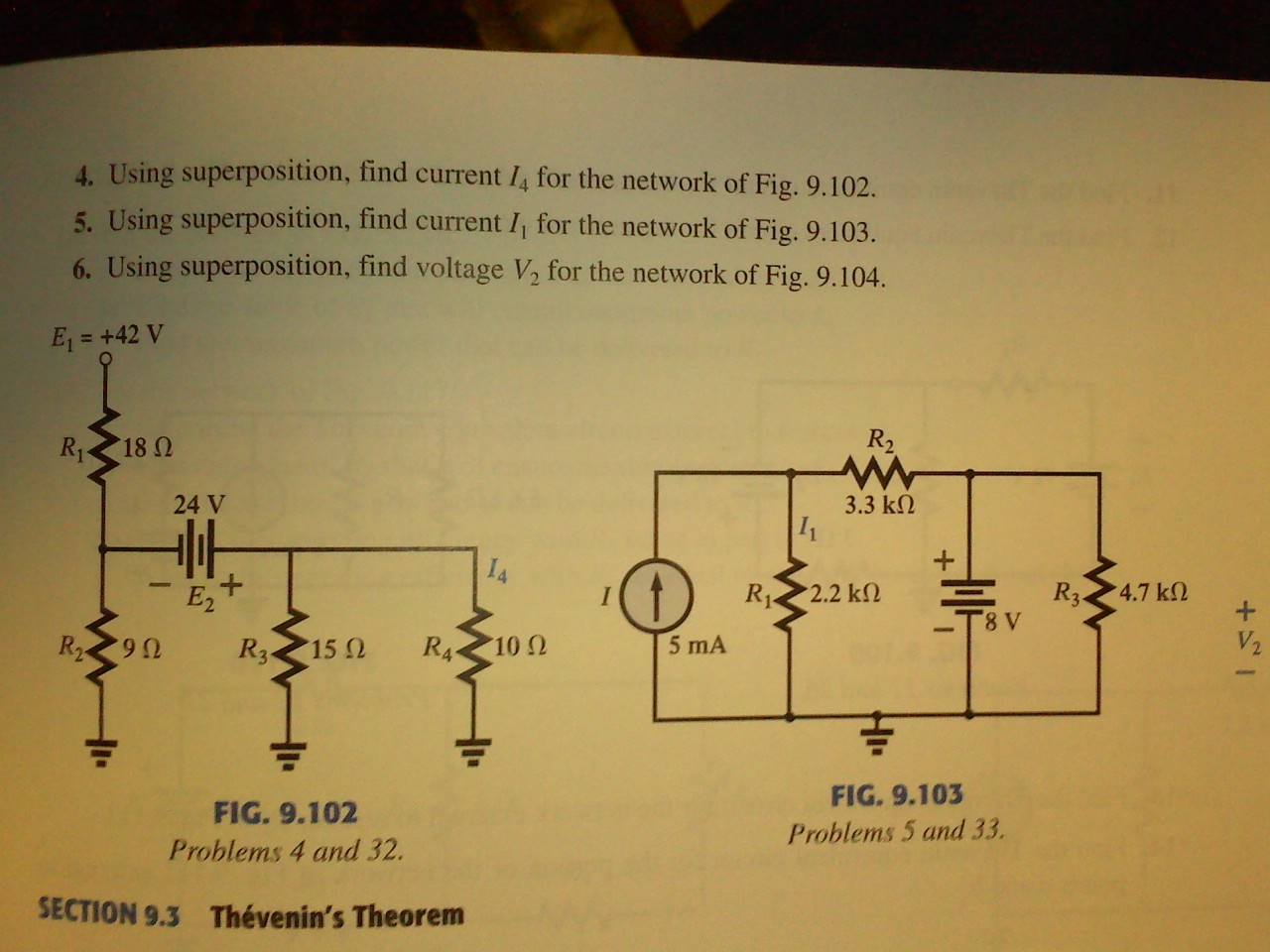 This question is from Essentials of Circuit Analys