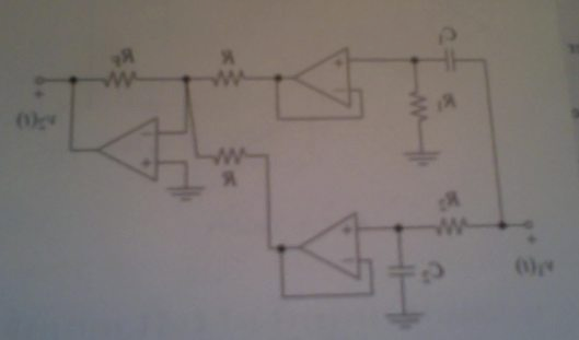 The circuit produces a bandstop response A) find