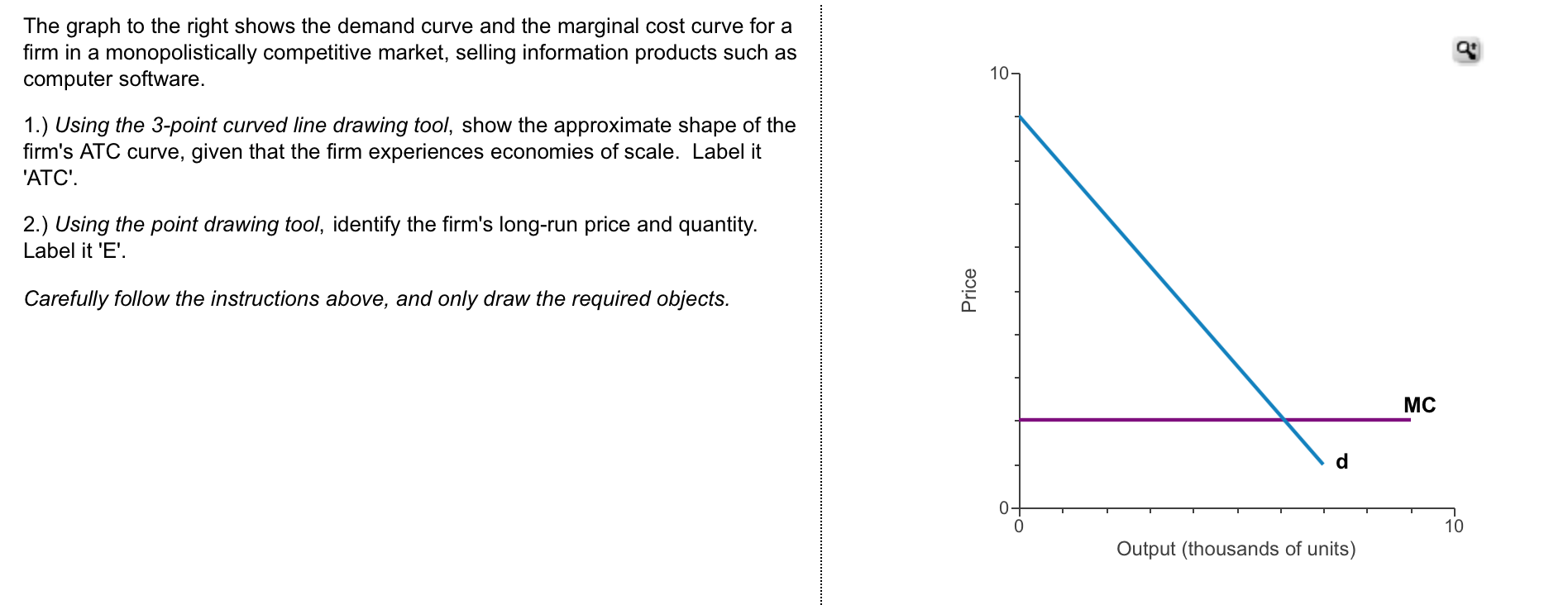 Marginal and Average Total Cost Curves