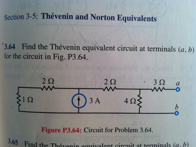 Thévenin and Norton Equivalents Find the Théven