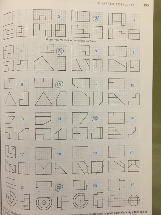 Solved: Sketches Missing Lines Problems Assignment = Drawi ...