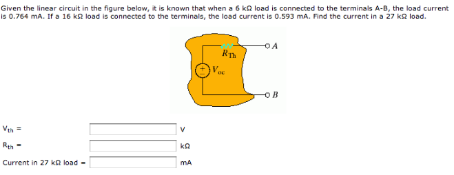 Given the linear circuit in the figure below, it i