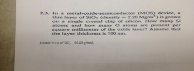 In a metal-oxide-semiconductor (MOS) device, a thi