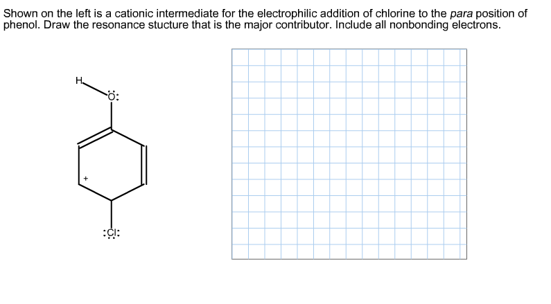 Shown on the left is a cationic intermediate for t