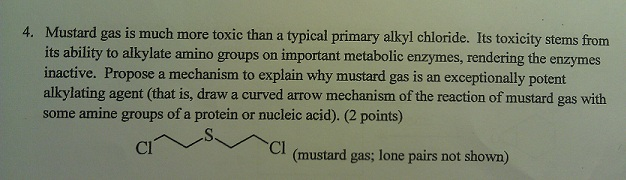 Mustard gas is much more toxic than a typical prim
