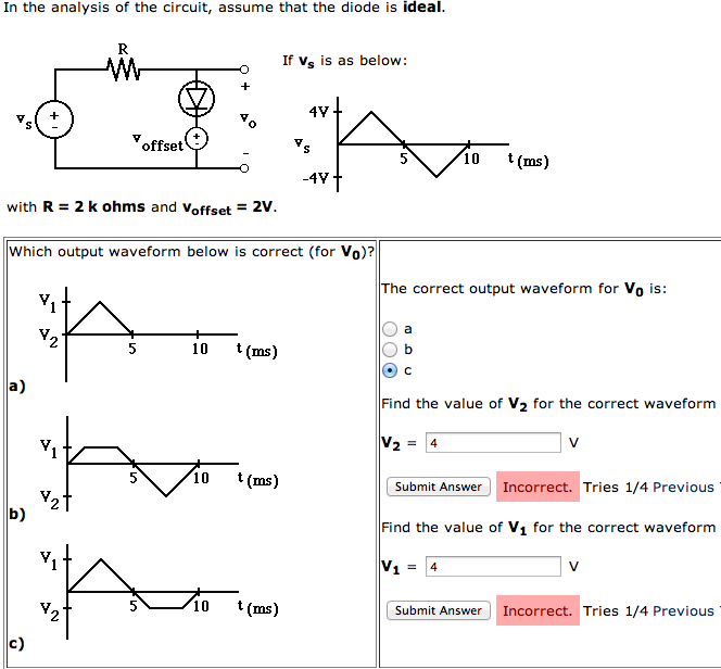 In the analysis of the circuit, assume that the di