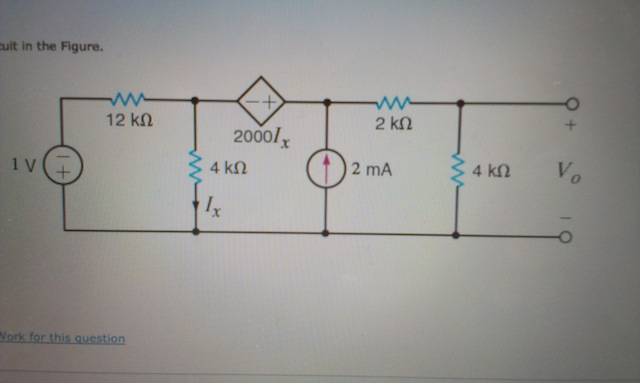 circuit in the Figure.