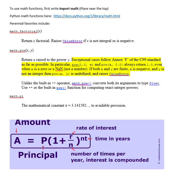 Compound interest homework help best texts!