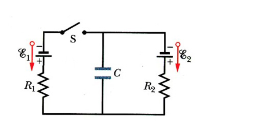 solved  the circuit as shown in the figure above shows a c