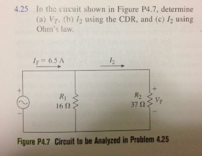 In the circuit shown in Figure P4.7, determine (a)