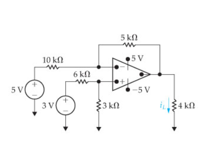 Find the load current in the circuit.