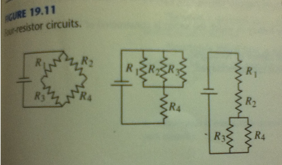 For each circuit shown in Fig. 19.11, find the cur