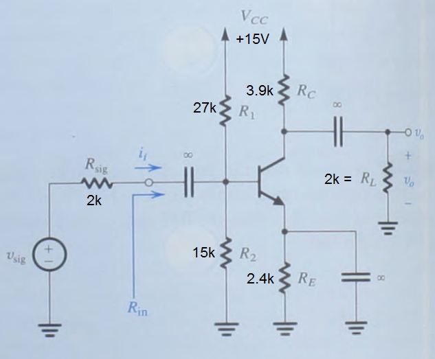 Calculate all of the DC currents and DC voltages f