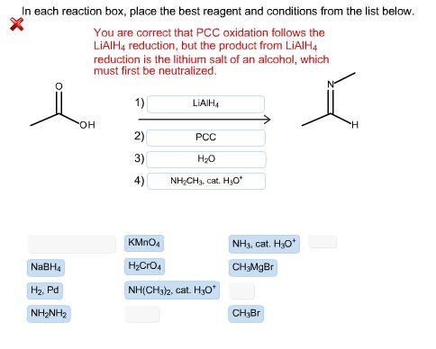 Oxidation reduction chemistry test