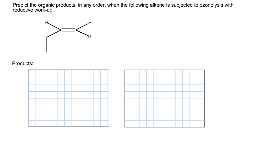 Predict the organic products, in any order, when t
