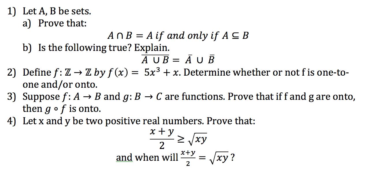Discrete math homework help