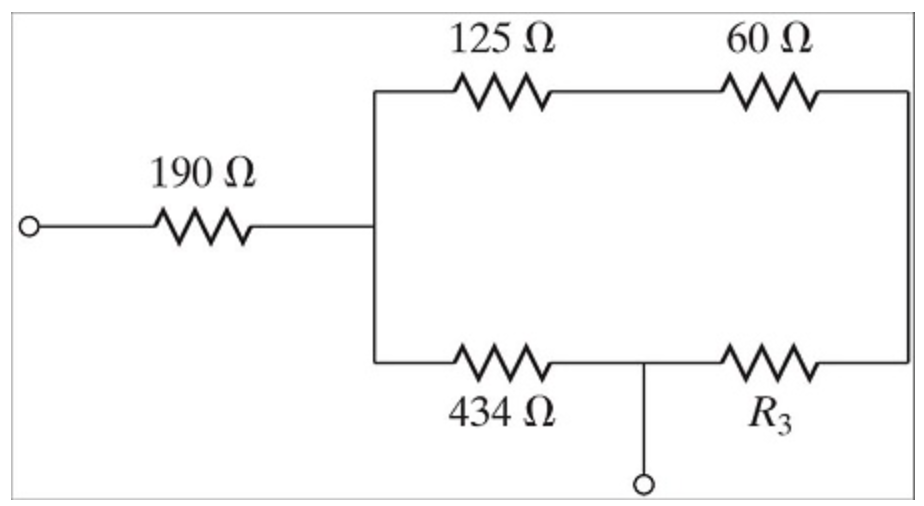 solved  for the resistor circuit shown below  what resista