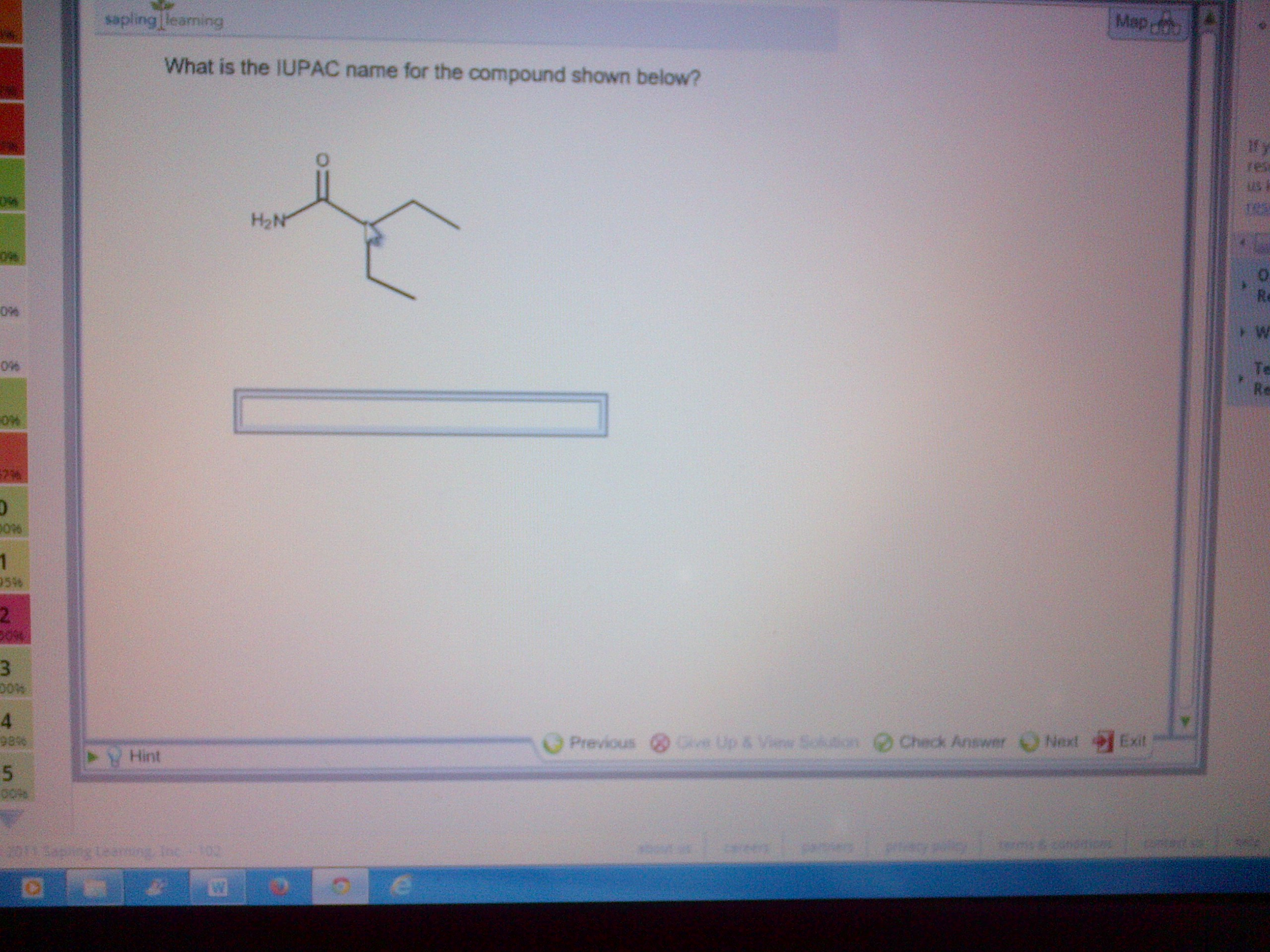 Chemistry homework help naming compounds
