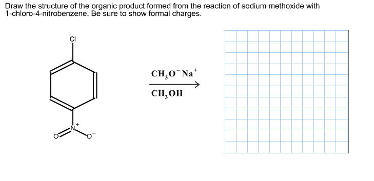 Draw the structure of the organic product formed f