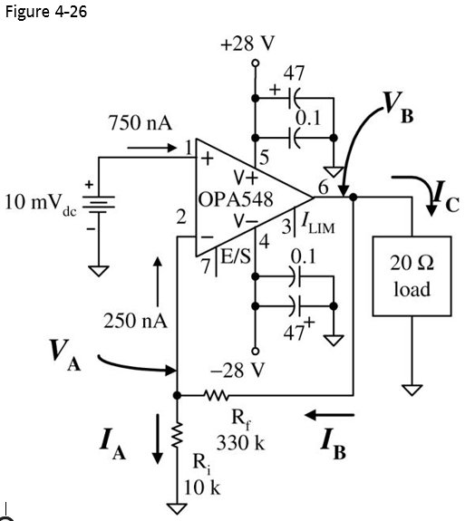solved  problems opa548 power op amp 4