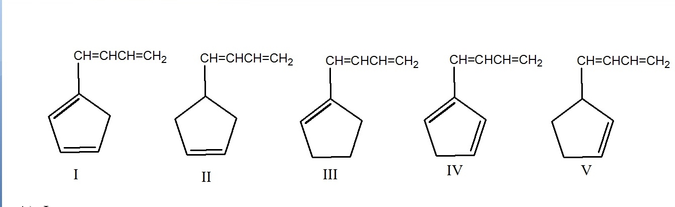 Which of the following compound(s) have the longes