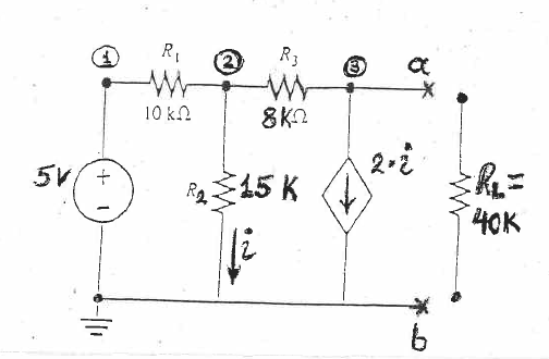 solved  a  calculate the thevenin u0026 39 s equivalent circuit b