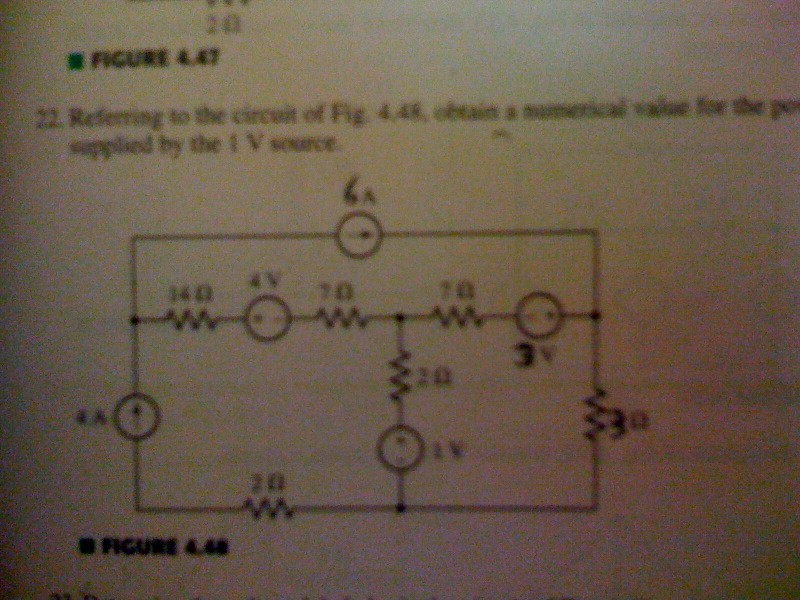 Referring to the circuit of Fig. 4.48, obtain a th