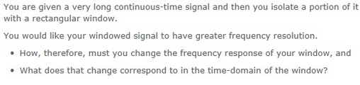 You are given a very long continuous-time signal a