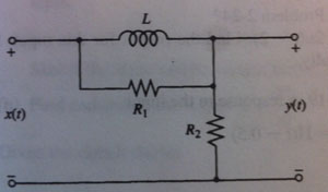 obtain the impulse response of this circuit