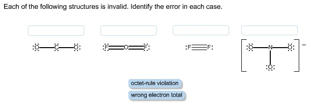 Solved: Each Of The Following Structures Is Invalid. Ident ...