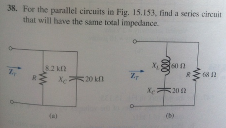 For the parallel circuits in Fig. 15.153. find a s