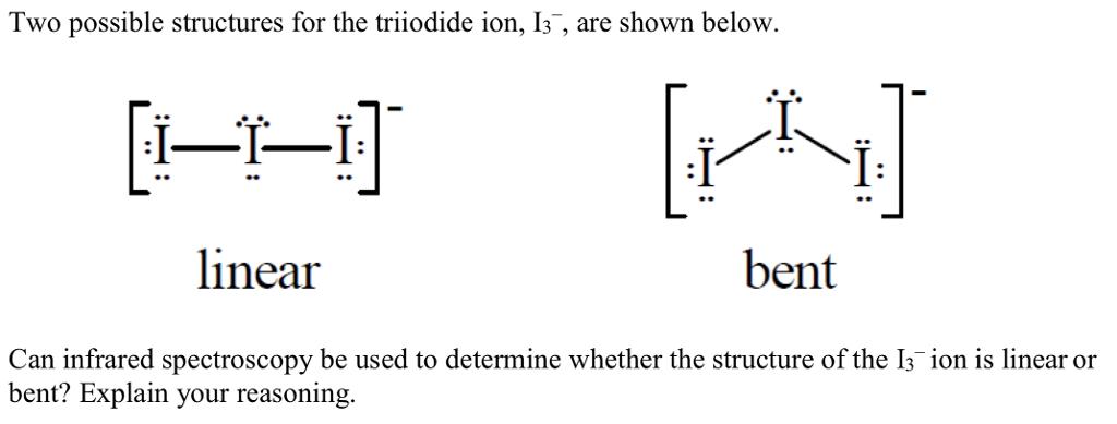 I3 Molecular Geometry Related Keywords I3 Molecular
