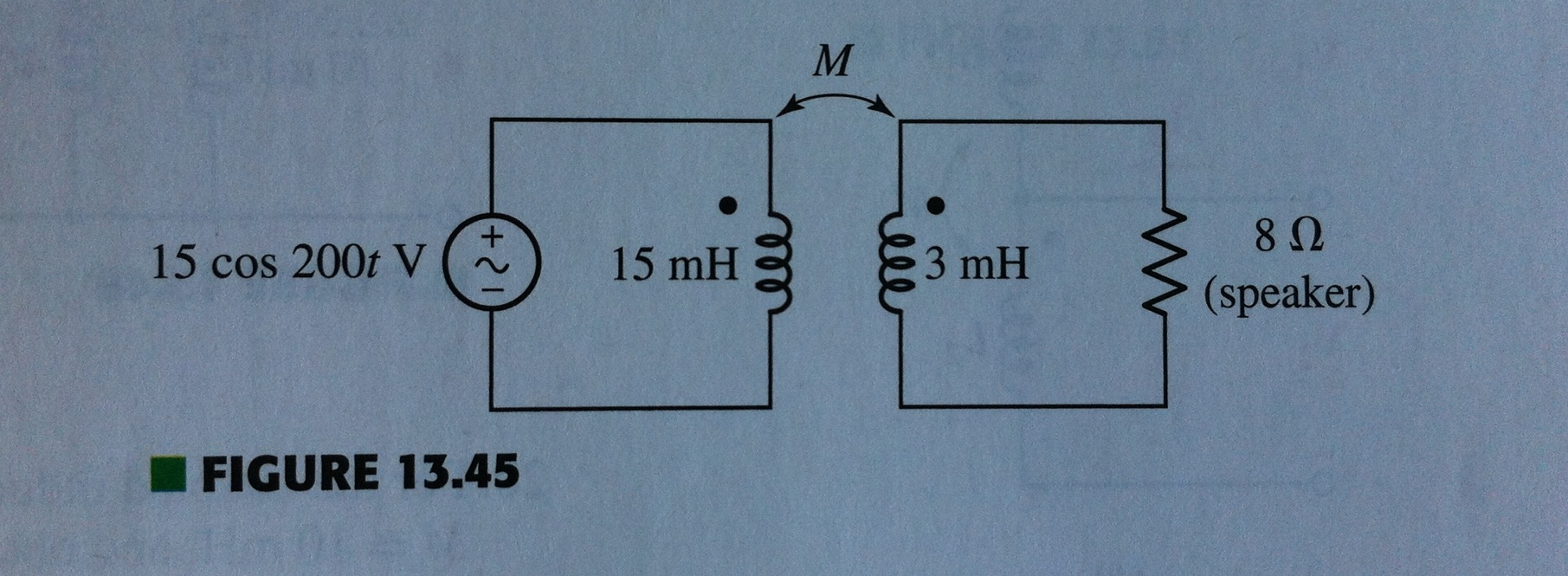 The circuit of Fig. 13.45 is designed to drive a s