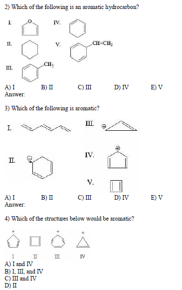 Which of the following is an aromatic hydrocarbon?