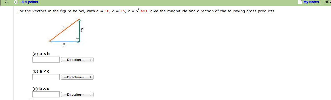 For the vectors in the figure below, with a = 16,