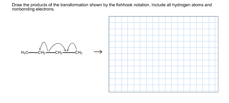 Draw the products of the transformation shown by t