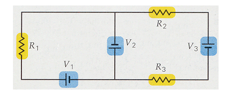 how to find current in each resistor parallel