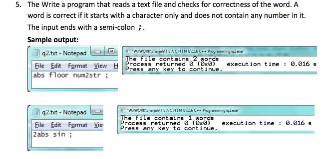 C - File I/O