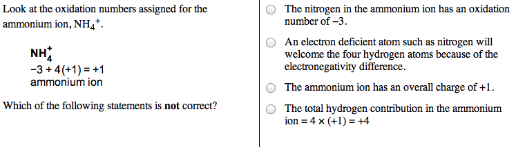 How are oxidation numbers assigned