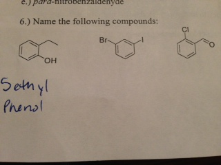 Para-nitrobenzaidenyde Name the following the com