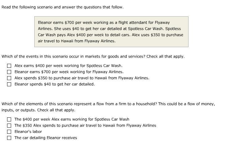 Read The Following Scenario And Answer The Questio... | Chegg.com