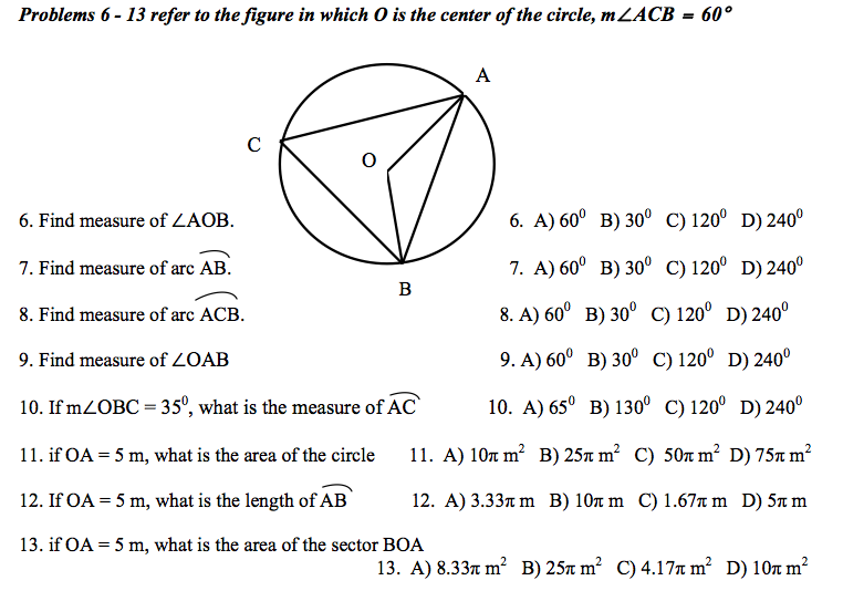 Refer to the figure in which O is the center of th