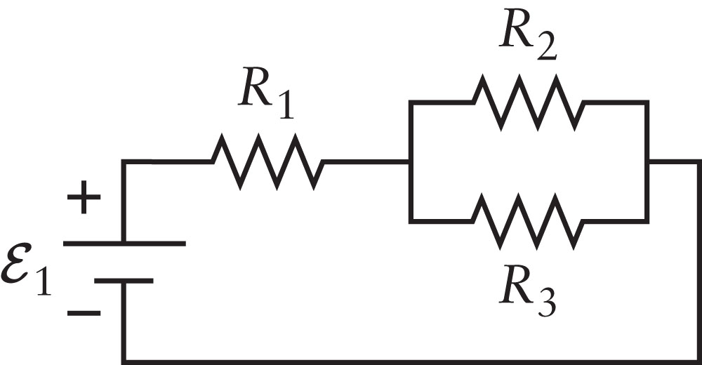Consider the circuit shown in the Figure. The thre