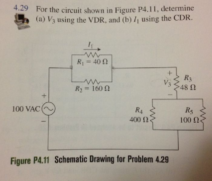 For the circuit in Figure P4.11, determine (a) V3