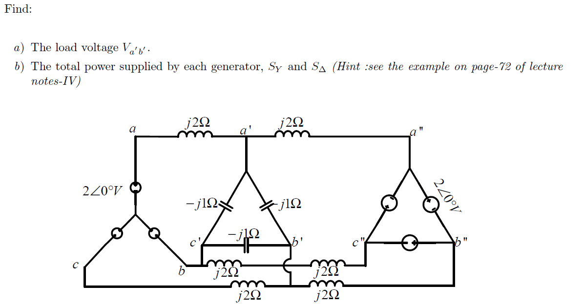 Refer to the figure 3. Assume a , Y-connected gen